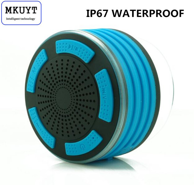 Ultra Portable Wireless Bluetooth Speakers V4.0 with Waterproof IP67. HD Sound and Bass for iPhone iPod iPad Phones