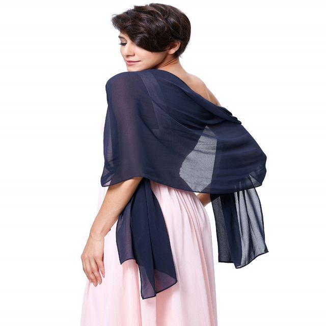 Online Shop White Shawl Women Scarves Wraps Bridal Wraps Chiffon ...