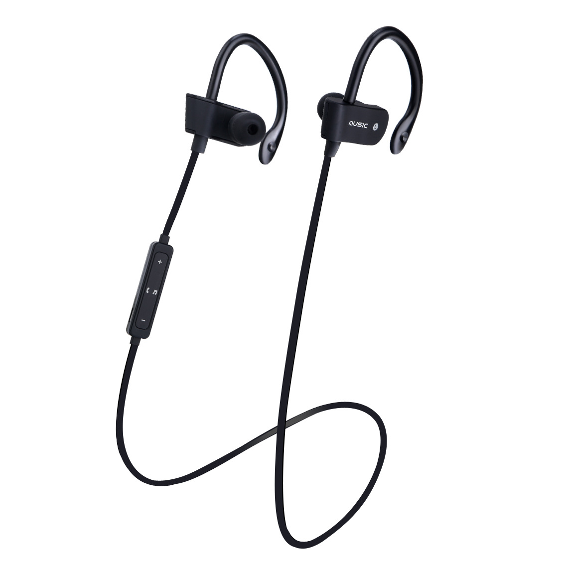 Hongsund Wireless Bluetooth 4.1 Headset Earphone Stereo Bass Music Sport Headphone Handsfree with Mic for IOS Android Smartphone lymoc v8s business bluetooth headset wireless earphone car bluetooth v4 1 phone handsfree mic music for iphone xiaomi samsung