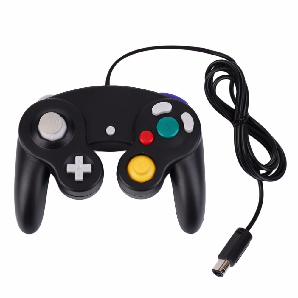 Gamepads New Game Controller Gamepad Joystick five color for Nintendo for GameCube For Wii Wholesale(China)