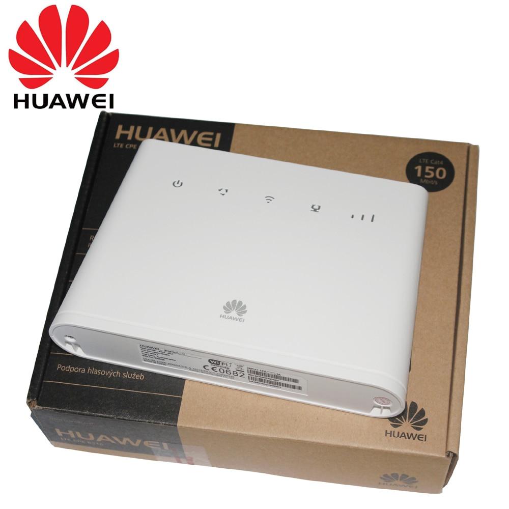 HUAWEI B310 B310S-22 150Mpbs 4G LTE CPEワイヤレスルーターとSimカードスロットサポートB1 B3 B7 B8 B20ミラー型最新駐車監視付きドラレコ