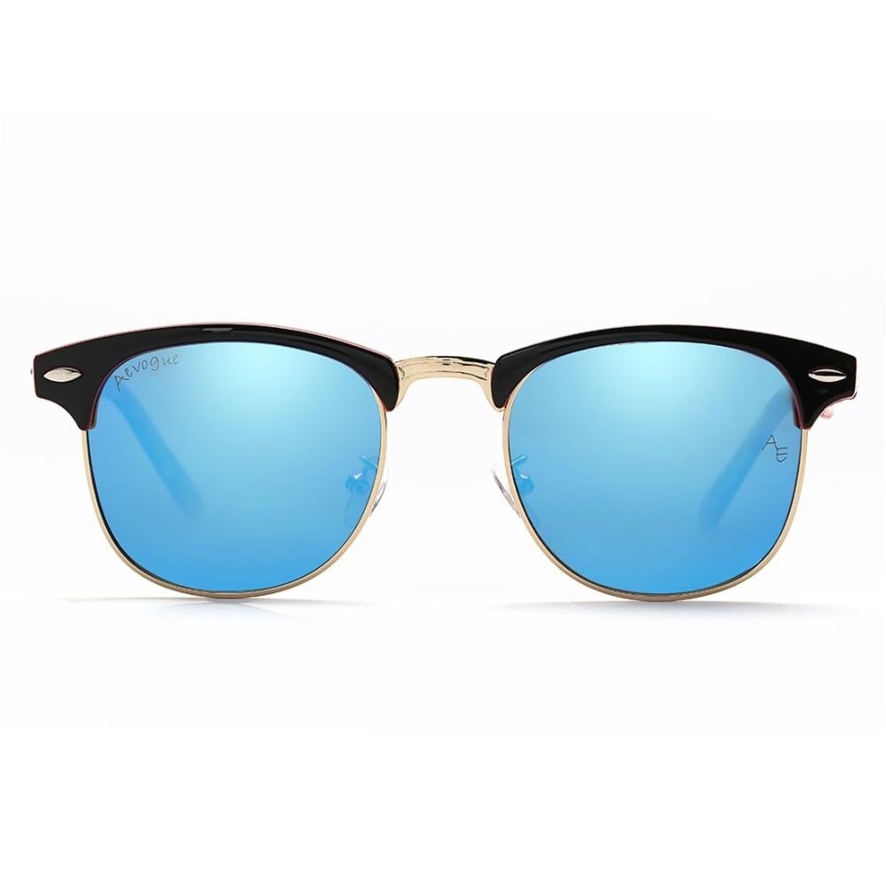 AEVOGUE Polarized Sunglasses Lelaki Retro Rivet High Quality Polaroid - Aksesori pakaian - Foto 2