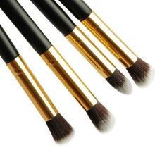 4Pc/Set Women Ladies Girls Pro Eyeshadow Eye Shadow Foundation Blending Face Blushes Brushes Set Makeup Cosmetic Tool