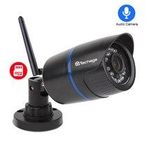Techage Yoosee 1080 P Wi Fi Аудио Звук SD карты запись охранных CCTV беспроводной IP камера 32 Гб ночное видение товары теле и видеонаблюдения