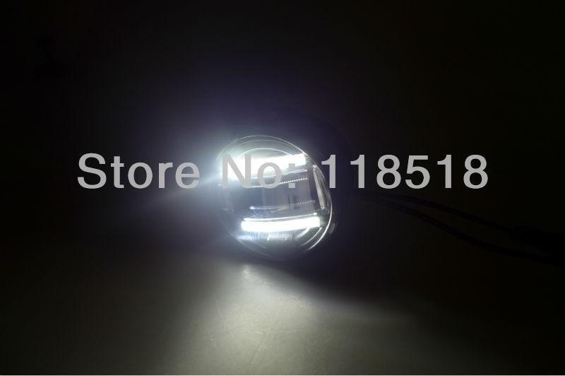 супер яркий светодиодный DRL дневного света двойной светодиодный свет бар Противотуманные фары для Рено Меган, Флюенс 2011-сейчас