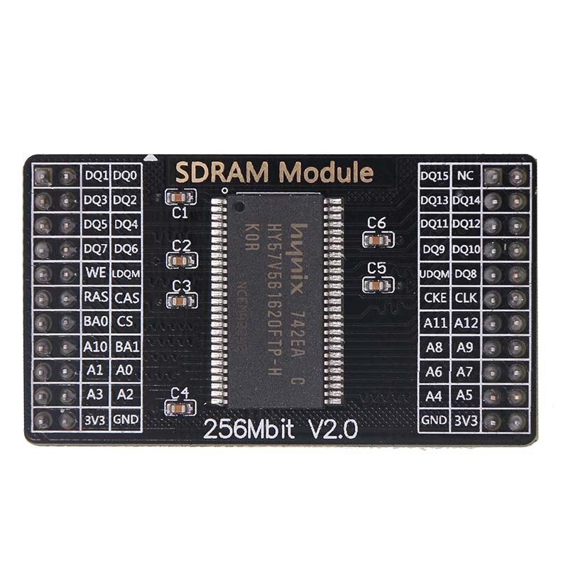 Módulo SDRAM, 256M, bit, H57V2562, para placa central Xilinx/Altera Placa de desarrollo FPGA, se puede reutilizar, adecuado, A012