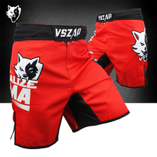 MMA Fightwear Boxing Trunks Motion Jiu-Jitsu Pants Bad Bo Muay Thai Training Boxer MMA Training Fight Shorts VSZAP