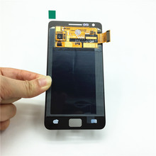 100% Working Well Replacement LCD for Samsung Galaxy S2 I9100 LCD Touch Screen Display with Digitizer Glass Assembly Replace