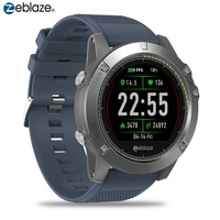Original Zeblaze VIBE 3 HR Smartwatches Run Route Tracking GreenCell Heart Rate Monitor Smart Watch Sports Watches Male Female