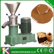 Hot sale 80 colloid mill peanut butter making machine bitumen sesame paste grinder machine