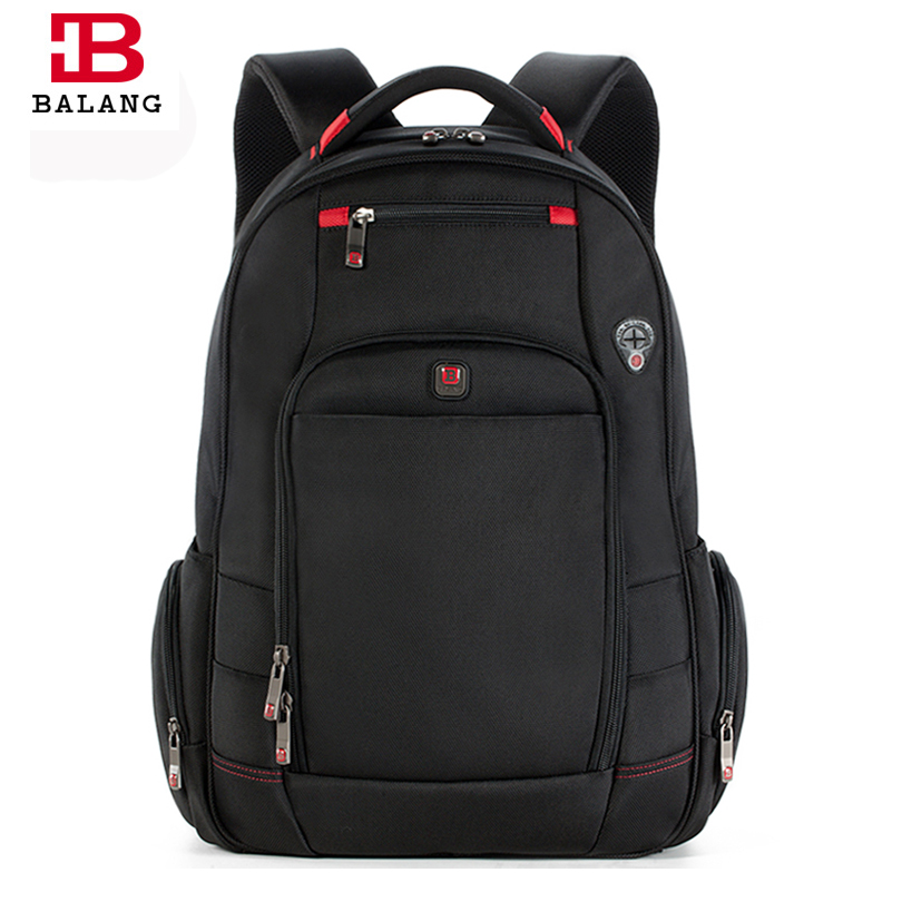 BALANG 2018 Men's Laptop Computer Backpack 17 inch Laptop School Student Bags for Travel Organizer Backpack Mochila Luggage Bags
