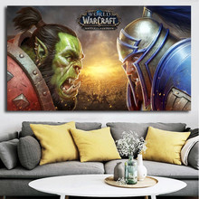 World of Warcrafts Battle For Azeroth Canvas Painting Print Bedroom Home Decoration Modern Wall Art Oil Poster Picture