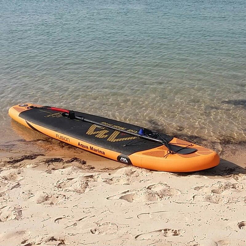 165-215 cm SUP palette extensible noire rame SUP stand up paddle board pour planche de surf en aluminium bateau gonflable kayak paddle - 4