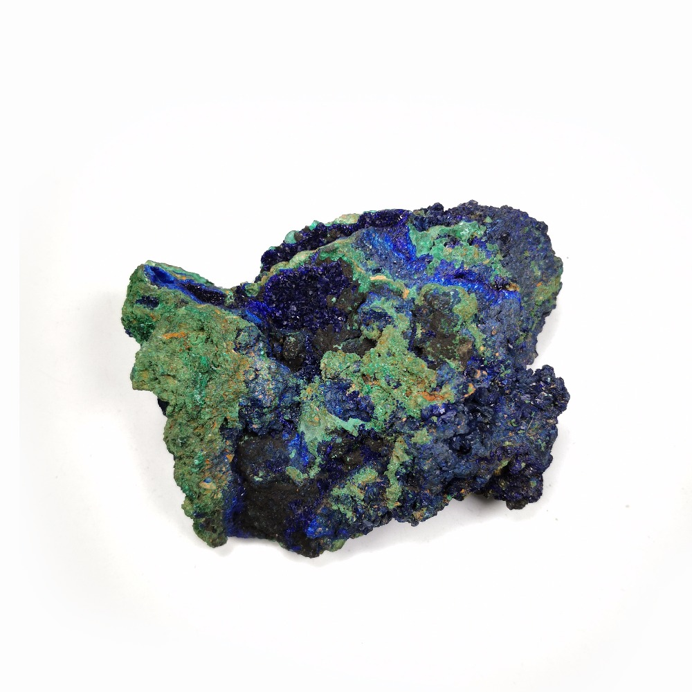 430g NATURAL Stones and Minerals malachite azurite crystal specimens blue ore D5 36