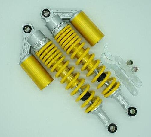 375 мм Универсальный 8 мм весна 375 мм амортизатор задняя подвеска для Honda Suzuki Kawasaki Yamaha Дукати Скутер ATV QUAD Грязь