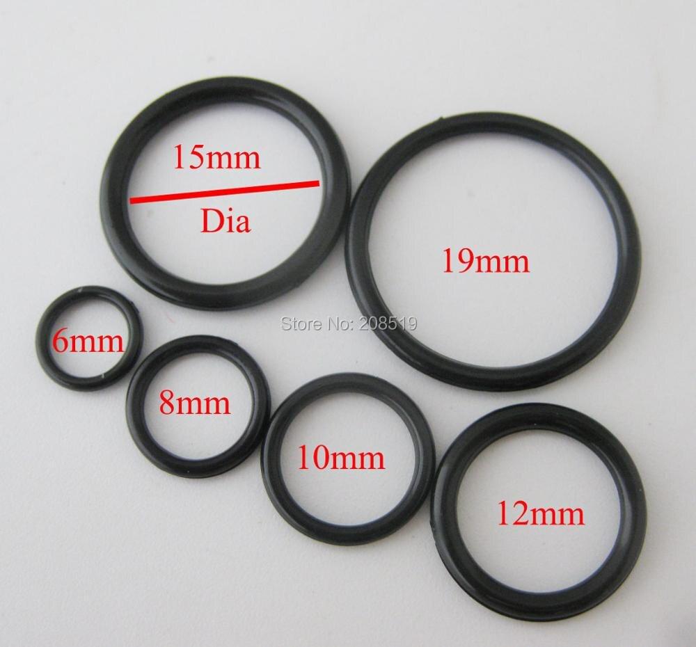 NBNLAE 100 шт. пряжки для бюстгальтера(50 шт. уплотнительное кольцо+ 50 шт. 8 слайдеров) красочные пластиковые пряжки нижнее бельё с пуговицами аксессуары