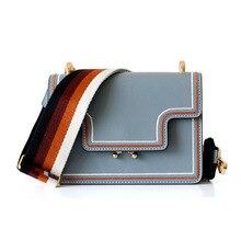 купить 2019 New Fashion Genuine Leather Small Flap Bag Luxury Handbags Women Bags Designer High Quality Female Shoulder Crossbody Bags по цене 3662.78 рублей