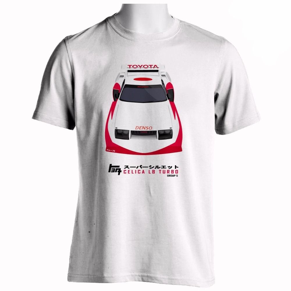 Mens T Shirts Fashion 2018 Custom Printed Shirts Celica Lb Turbo Group 5 Racer Tee Shirt Shop