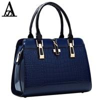 AITESEN Crocodile Stripes Stylish Elegance Woman Louis Handbags Famous Brands Bag Bolsas Femininas Bolsas De Marcas