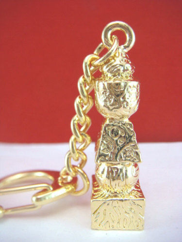 5 Element Pagoda with Tree of Life Keychain feng shui W1001|pagoda|pagoda feng shui|  - title=