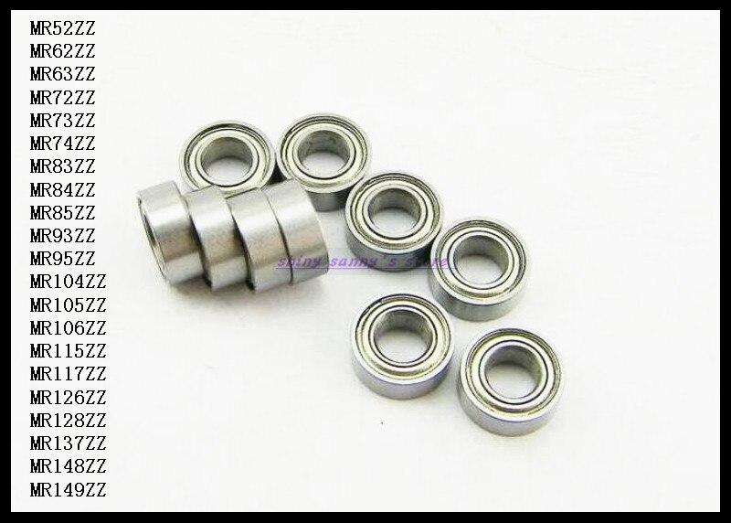 20pcs/Lot MR85ZZ  MR85 ZZ 5x8x2.5mm Thin Wall Deep Groove Ball Bearing Mini Ball Bearing Miniature Bearing Brand New 20pcs lot mr126zz mr126 zz 6x12x4mm thin wall deep groove ball bearing mini ball bearing miniature bearing