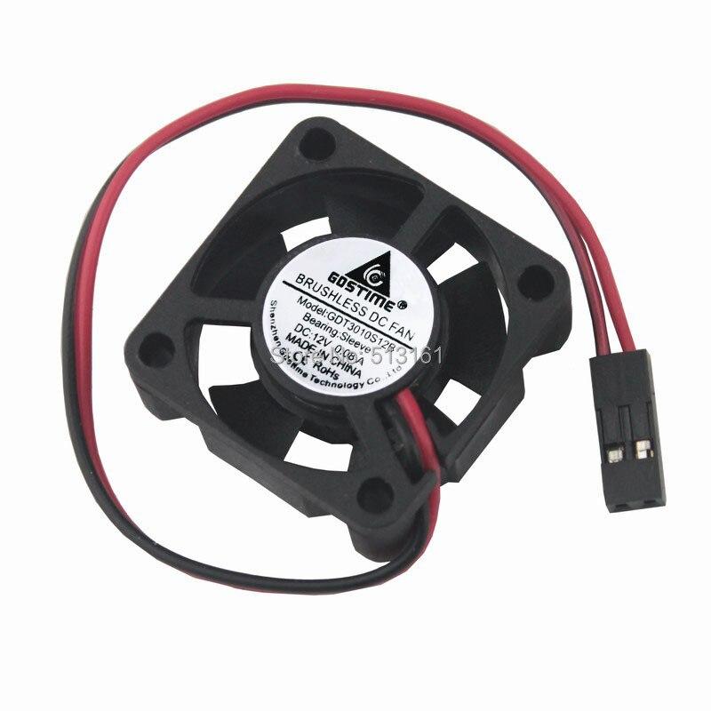 5 pièces Gdstime 3010 s 30 MM 30x30x10 MM 3 cm Dupont 2Pin 12 V DC refroidisseur petit ventilateur de refroidissement