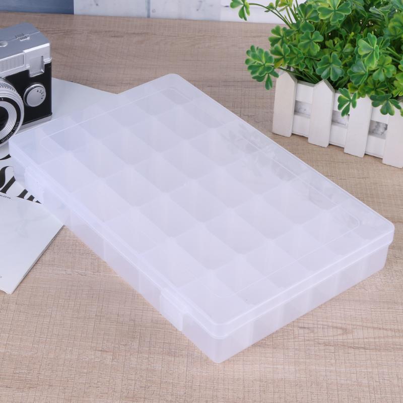 Wasserdichte 36 Fächer multifunktions Kunststoff Angelgerät Box Tragbare Angeln Köder Haken Rig Köder Aufbewahrungskoffer Pesca