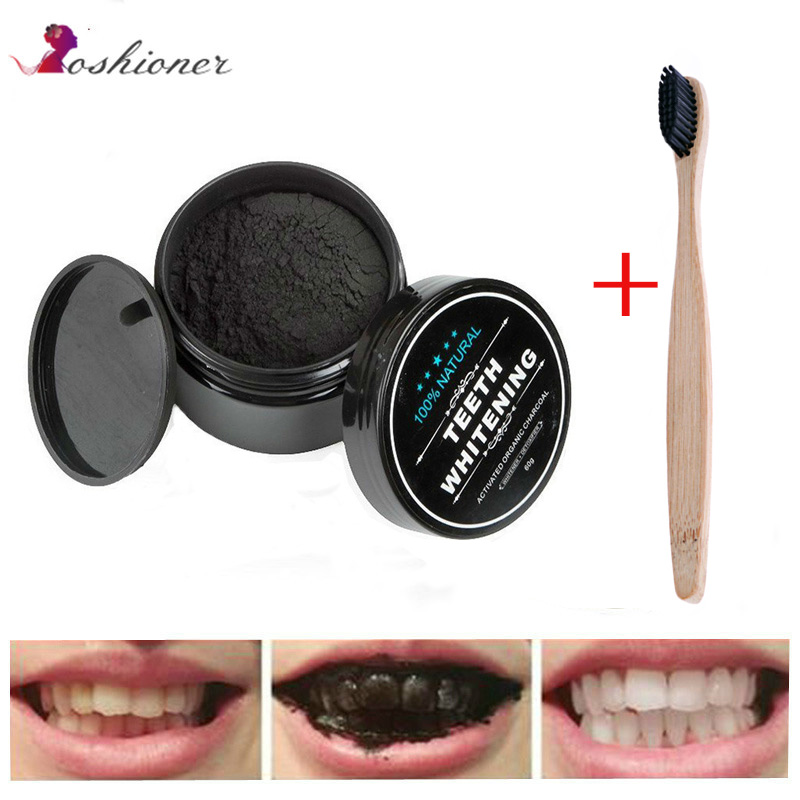 1 Pcs Zähne Bleaching Mundpflege Holzkohle Pulver Natürliche Aktivkohle Zähne Aufheller Pulver Oral Hygiene