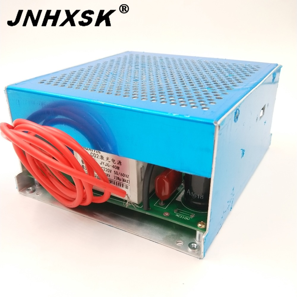 JNHXSK 40w Laser Power Supply New MYJG-40 220V/110V PSU Equipment For CO2 Laser Engraving And Cutting Machine