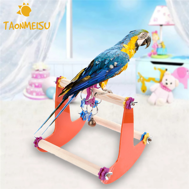 Toys For Trainers : Shaking chair stand climb bird toys training