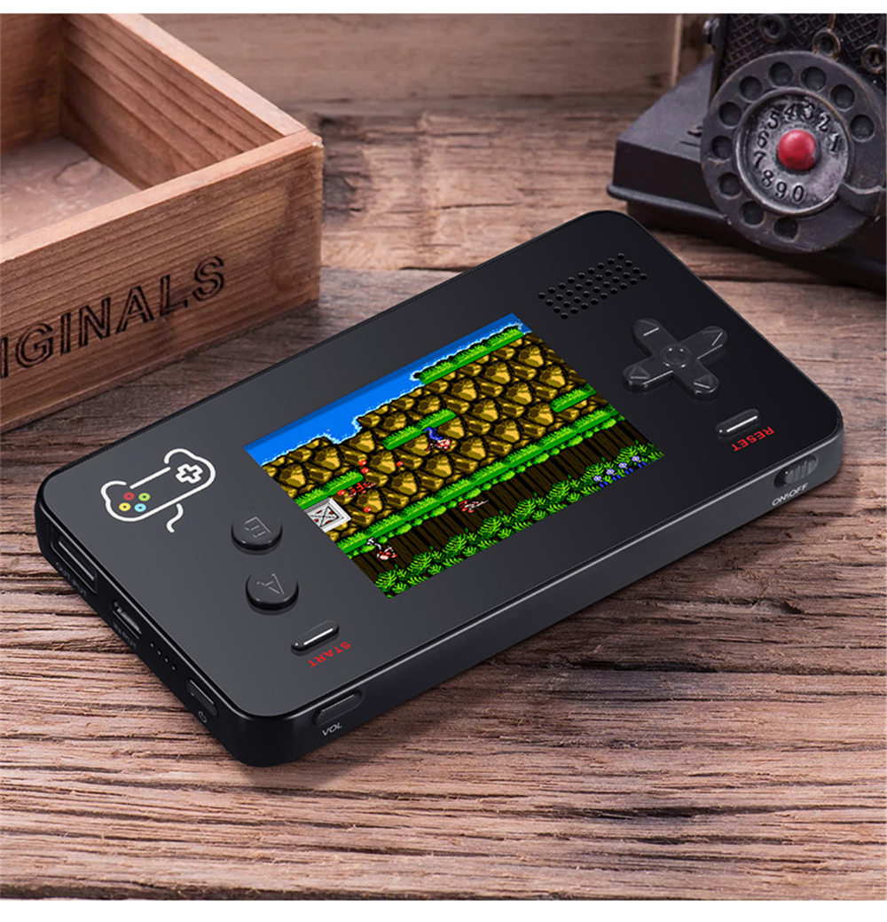 5000mA Portable Mobile Power Retro Handheld Game Console Built-in s 188 8-bit Retro Games for iPhone (2018 NEWS) 2