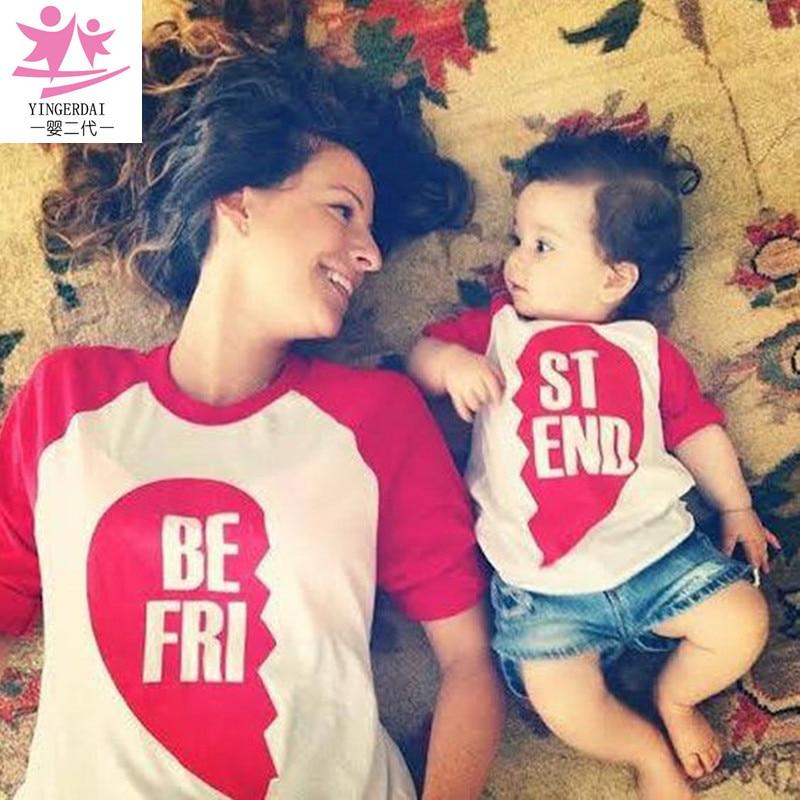 Mother Mum And Daughter Clothes Shirt Pajamas Set Family