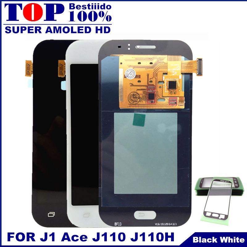 US $26 46 47% OFF For Samsung Galaxy J1 Ace J110 SM J110F J110H Display  Touch Digitizer Screen Assembly Brightness Control Phones LCD  Replacement-in