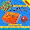 La más nueva versión sigma caja con 9 cables con paquete 1 de activación para t basados en mtk motorola, alcatel, huawei, zte