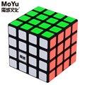 A estrenar Moyu AoSu 4x4x4 Magic Speed Cube Cubos Del Rompecabezas Para Niños Juguetes Educativos Juguete Negro-62mm