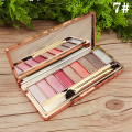 9 Colors Diamond High Quality pigment makeup eyeshadow pallette to eye kit maquiagem eye shadow beauty naked pallette