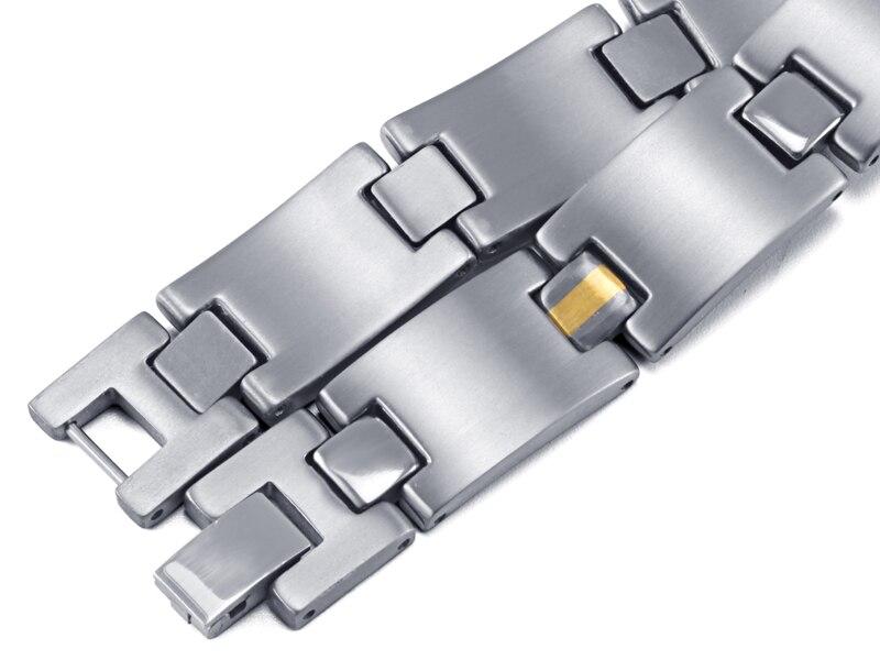HTB1HV ERVXXXXchapXXq6xXFXXXK - RainSo 2019 Fashion Titanium Bracelets & Bangles For Women Men Trendy Simple Generous Jewelry OTB-216  charm bracelets
