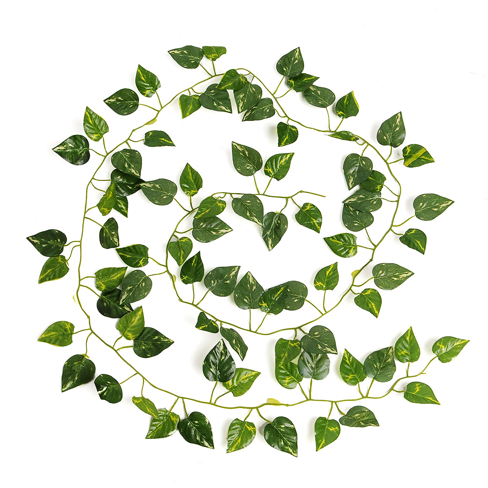 New Delightful Natural Artificial Ivy Leaves Plants Vine 2M Long Home Decor Wedding Party Decoration
