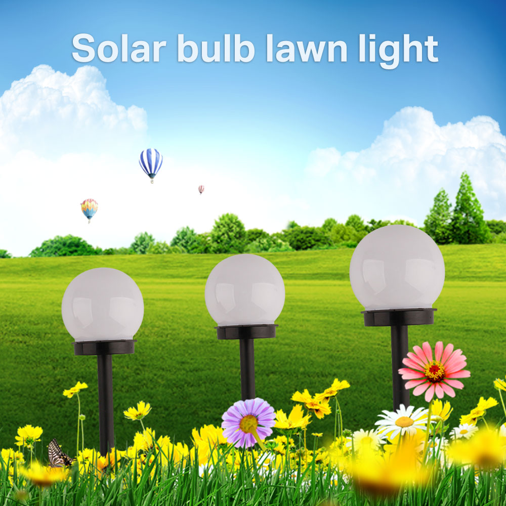 Outdoor Solar Garden Light Garden Yard Led Light Landscape Path Waterproof Garden Lights Ip44