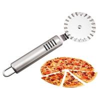 العصرية الفولاذ المقاوم للصدأ المعجنات نونستيك البيتزا عجلة تقطيع شفرة أدوات البيتزا المنزل والحديقة -