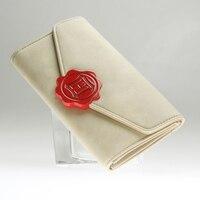 Harry Potter Hogwarts Crest Faux Leather Tri Fold Wallet Women Purse DFT 6036