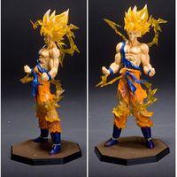 Di alta qualità-Anime 18 CM dragon ball z action figures Super Saiyan Son Goku PVC Collezione Toy model for Compleanno regalo