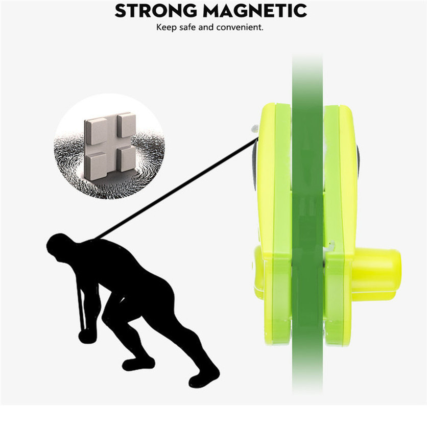 Magnetic Glass Window Cleaner Brush With 2pcs Rugs Single Glazing Windows Glass Dust Brush Cleaner Cleaning Tool for Home Use in Cleaning Brushes from Home Garden
