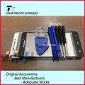 Original para lenovo a5000 touch screen display digitador de peças de reparo para lenovo a5000 preto ou branco + frete grátis + ferramenta grátis