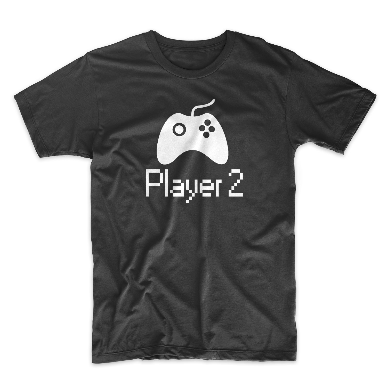 Плеер 2 Gamer консоли PC Geek Для мужчин футболка