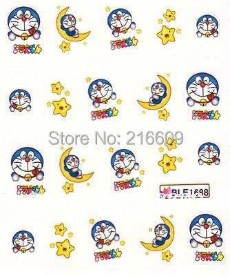 Online Shop Nail Decal 20sheetslot Mix Doraemon Cartoon 5 Designs