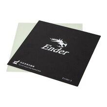 Creality 3D Ender-3 3d принтер Съемная стекловолокна сборка пластины Heatbed добавить термонаклейка сборка пластины для Ender-3 Размер 235 мм
