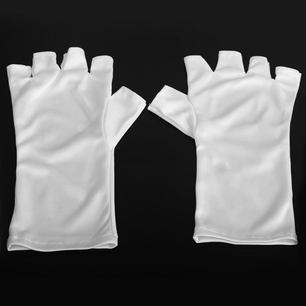 1 Pair Nails Anti UV Gloves for UV Light /Lamp Anti UV UV Protection ...