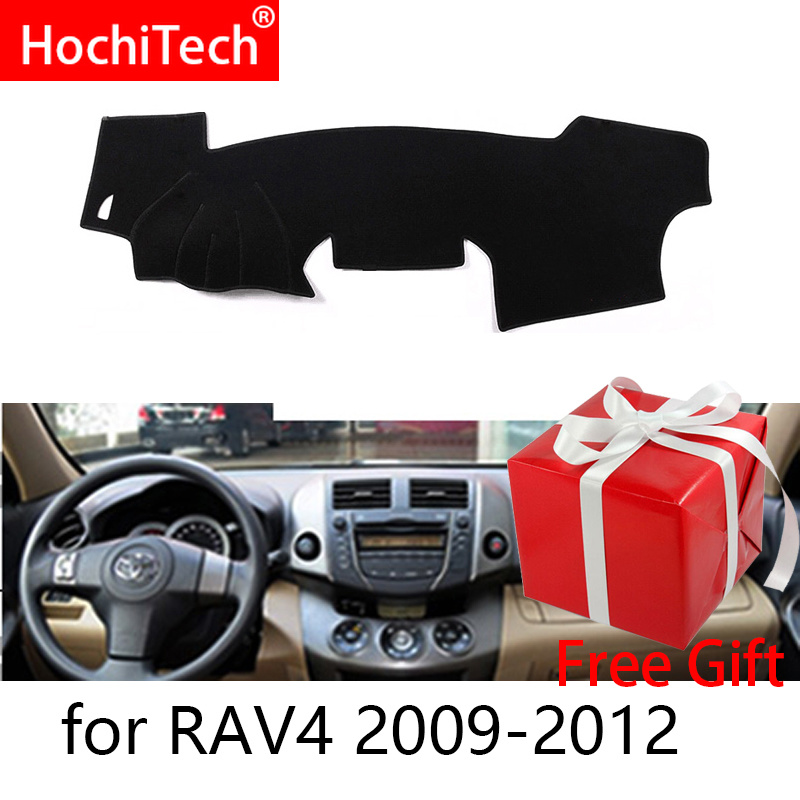Für Toyota RAV4 RAV 4 2009 2010 2011 2012 Rechts Links Hand Stick Auto Dashboard Abdeckungen Matte Schatten Kissen Pad teppiche Zubehör