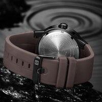 Модные мужские часы бренд Военная Униформа NAVIFORCE аналоговые кварцевые 3D уход за кожей лица резиновые часы человек спортивные часы армия